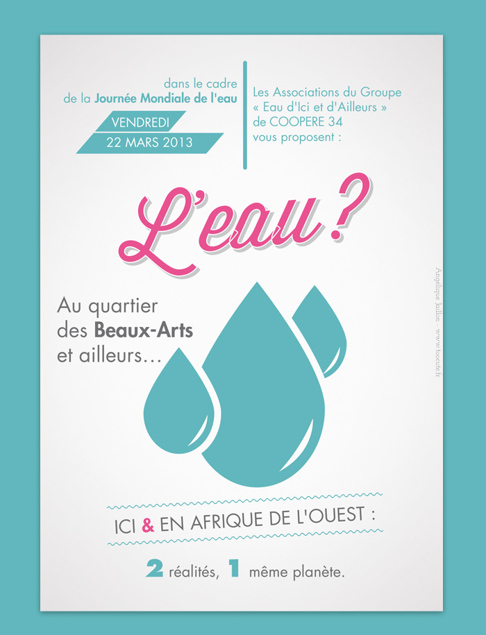 Graphiste Montpellier freelance - Flyer
