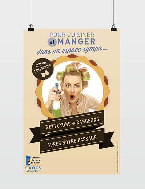 Graphiste Montpellier freelance - CROUS