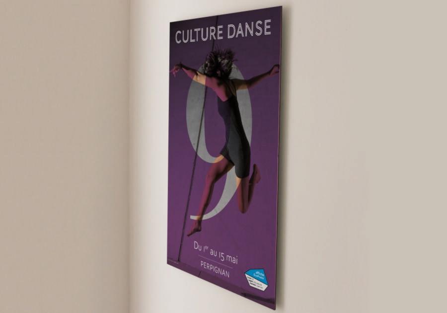 Graphiste Montpellier freelance - affiche Exaprint