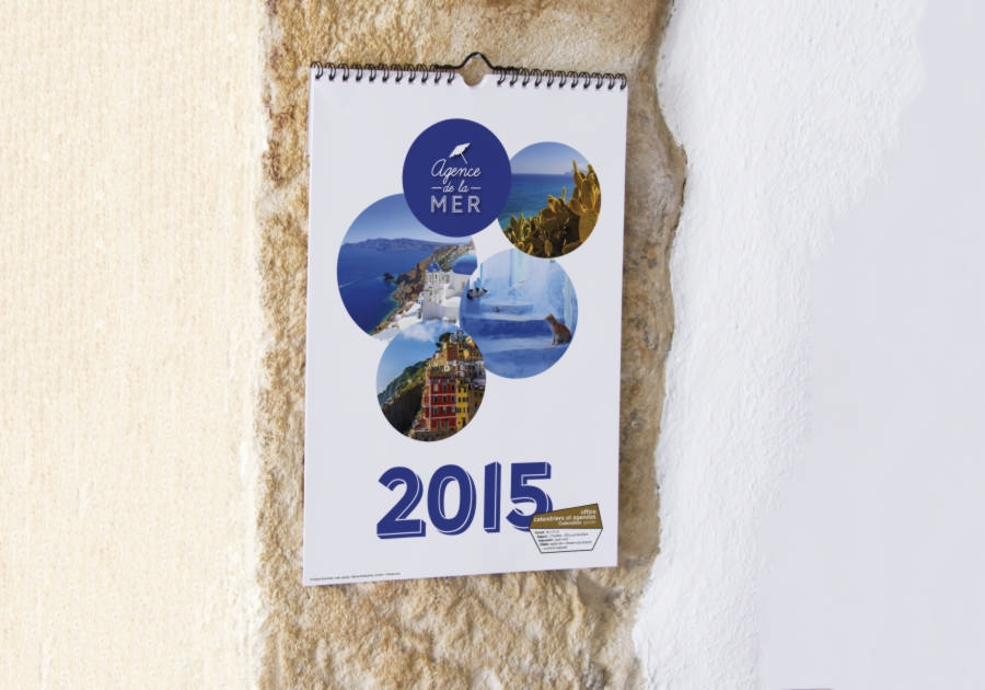 Graphiste Montpellier freelance - calendrier 2 Exaprint