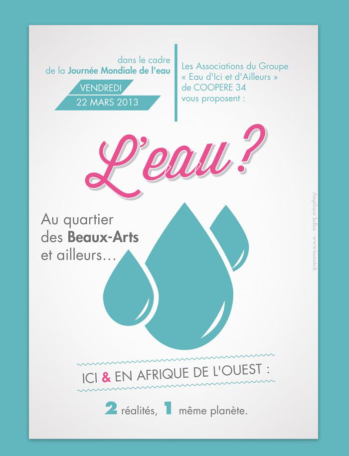 Graphiste Montpellier freelance - Flyer