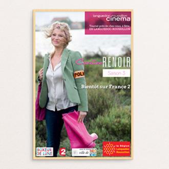 Graphiste Montpellier freelance - Affiche Candice Renoir