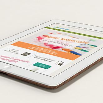 Graphiste Montpellier freelance - Newsletter 2
