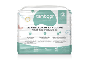 Couches TAMBOOR Taille 2