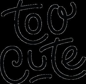 Logo Too Cute header