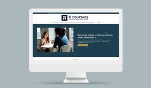 Site Internet FI Courtage